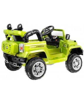 Elektrické autíčko Jeep JJ245 zelené
